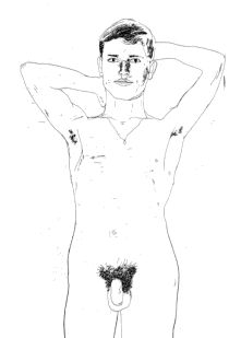 Hockney's illustration to Cavafy
