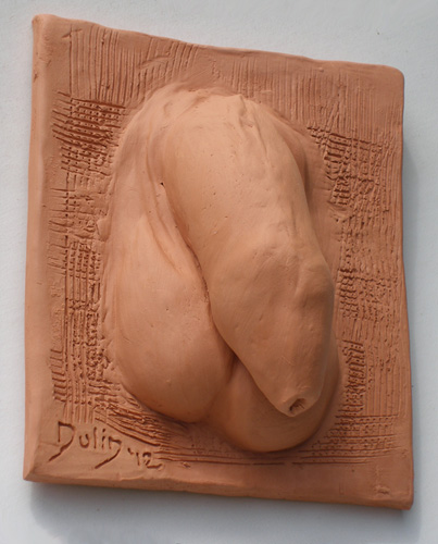 Terra-cotta piece by Michael Dulin