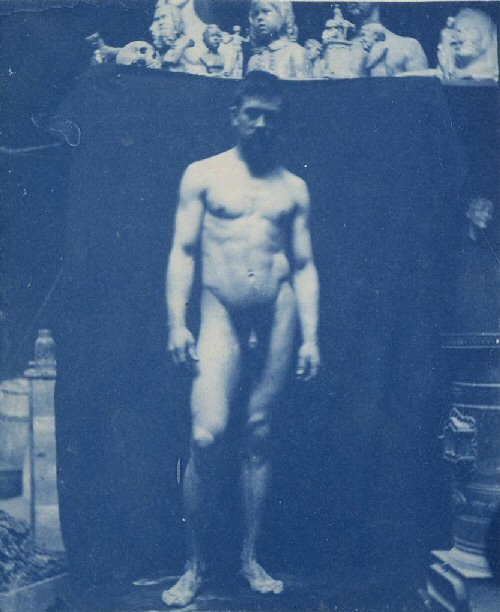 Samuel Murray nude by Thomas Eakins