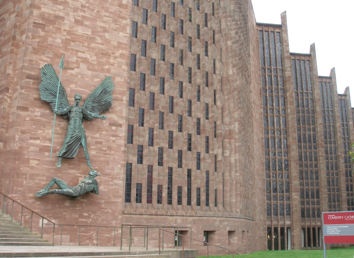 Frontage, Coventry Cathedral