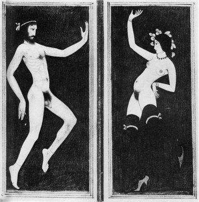 ''Dancers'' by Eric Gill