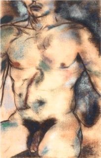 ''Richard'' by Kitaj