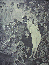 Self Portrait by Norman Lindsay