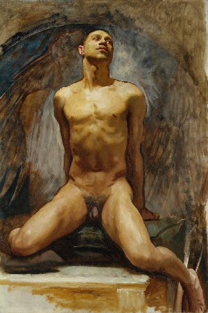 John Singer Sargent ''Nude Study of Thomas E. McKeller''