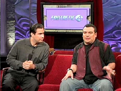 Voiceover Dude and Carlos Mencia