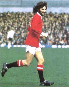George Best - kicking