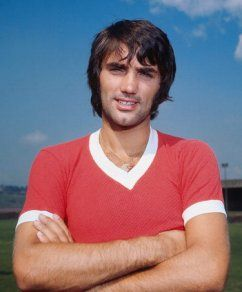 George Best - portrait