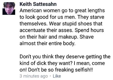 ''American women go to great lenghts to look good for us men ... Don't you think they deserve getting the kind of dick they want?
