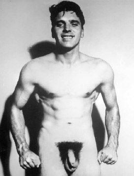 Burt Lancaster fullface, nude