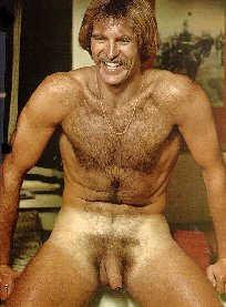 Hairy 1970's Man