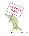 Click to download ''Anteater Pride'' tee-shirt design