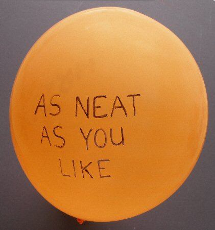 balloon written on when inflated